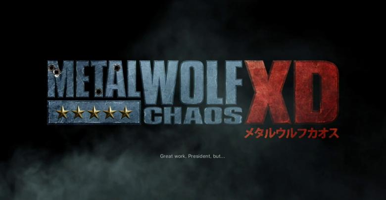 Análisis Metal Wolf Chaos XD - Presidencialmente hiperbólico