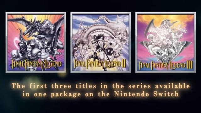 """Collection of SaGa Final Fantasy Legend"" debuta en TGS"