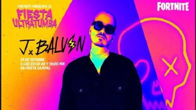 Photo of J Balvin participará en la Fiesta Ultratrumba de Fortnite