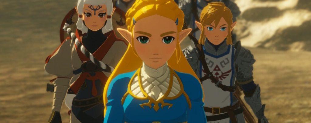 Age of Calamity - Link, Zelda e Impa
