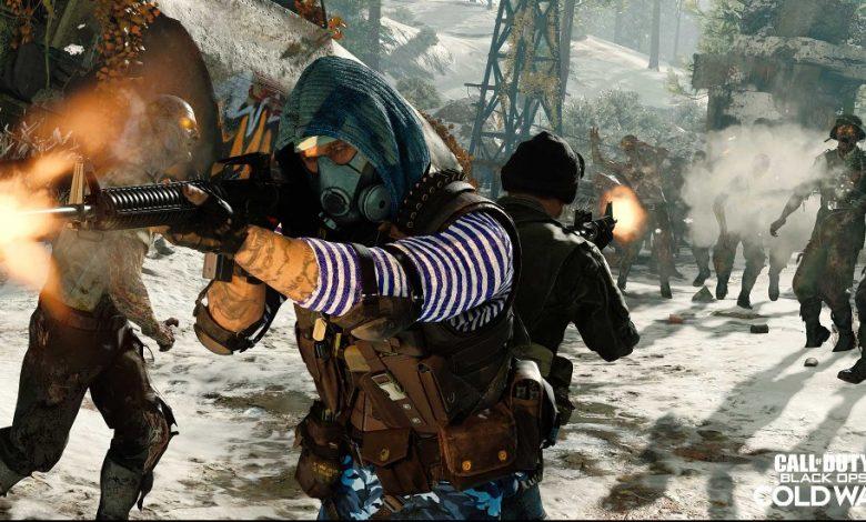 Semana de acceso gratuito a Zombis Black Ops Cold War Zombies