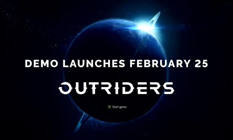 El demo gratuito de OUTRIDERS estará disponible mañana