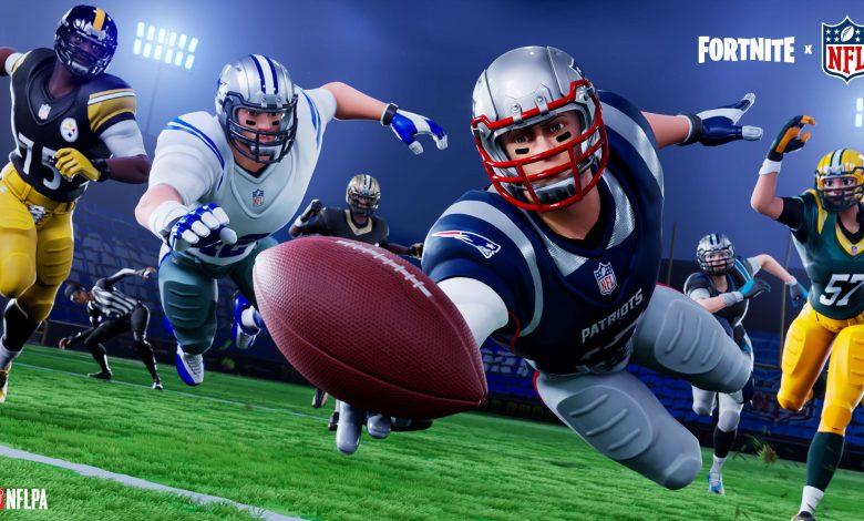 Fortnite incluye atuendos de la NFL, modo creativo y más