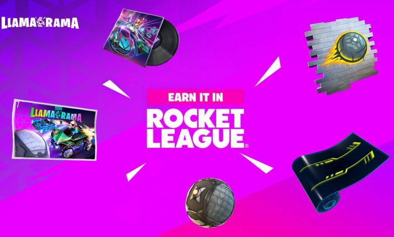 El Llama-Rama de Fortnite celebra la nueva Temporada de Rocket League
