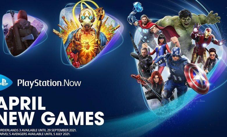 Juegos de PlayStation Now Abril: Marvel's Avengers, Borderlands 3 y más