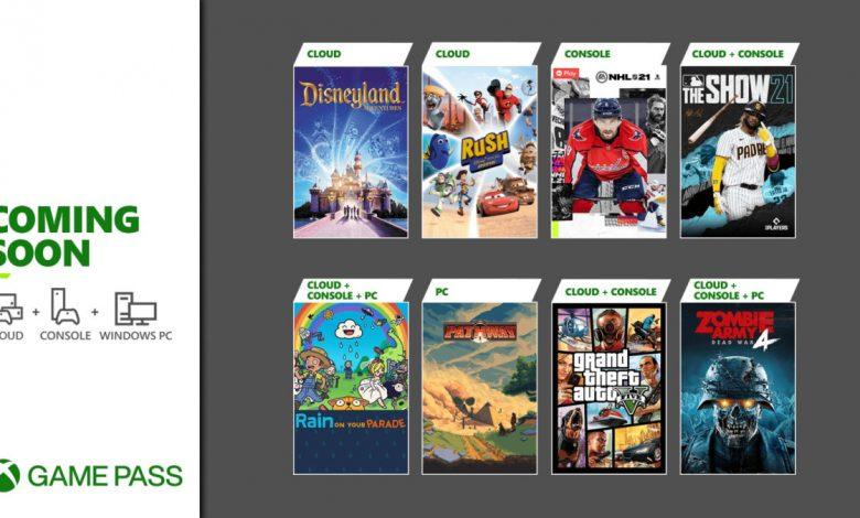 Próximamente en Xbox Game Pass: Grand Theft Auto V y más