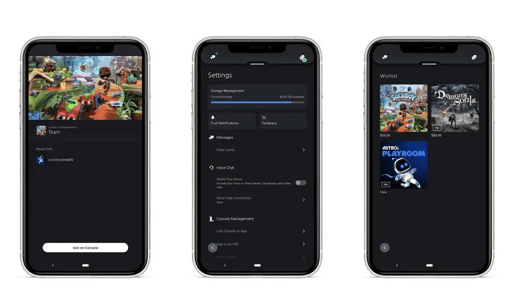 Playstation App - iPhone