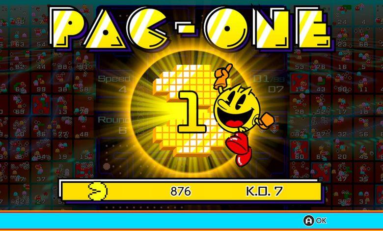 PAC-MAN 99 Ya está disponible para miembros de Nintendo Switch Online