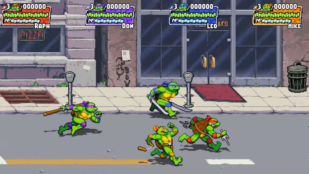 TMNT - Tortugas corriendo en NY