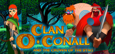 Review Clan O'Conall and the Crown of the Stag - El poder de 3 hermanos