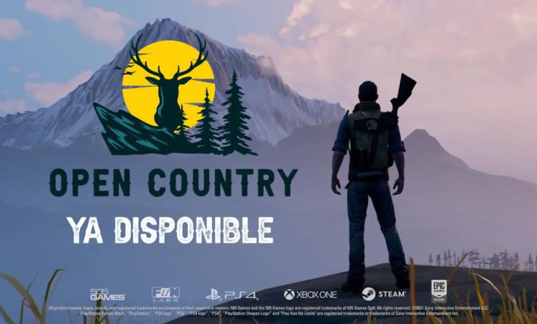 Open Country ya está disponible para PC, PS4 y Xbox One