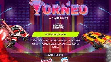 Photo of Gamers Unite anuncia la 2da edición del Torneo de Rocket League