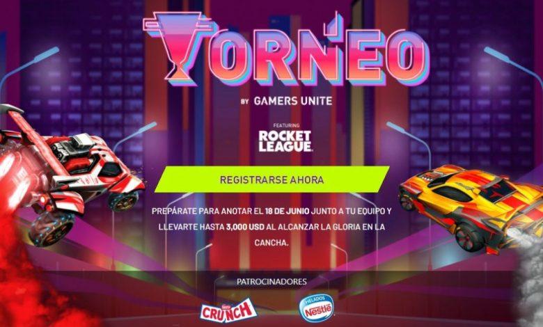 Gamers Unite anuncia la 2da edición del Torneo de Rocket League