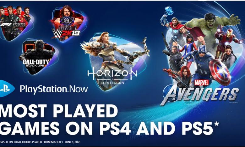 PlayStation Now: Los juegos más jugados en primavera