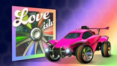 Photo of Llegó el mes del orgullo y con ello la playlist LOVE ISLV de Rocket League