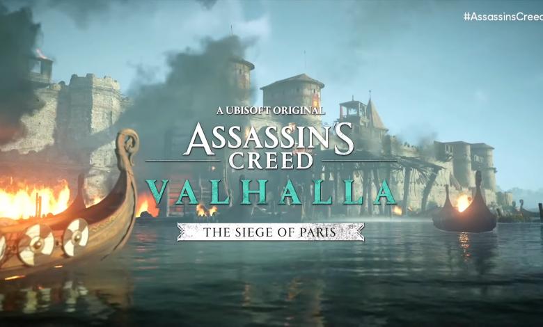 Assassin's Creed Valhalla: El Asedio de París llegará en Agosto
