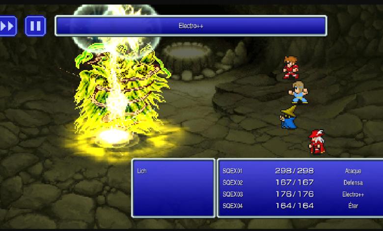 Final Fantasy I, II y III ya están disponibles en Steam y dispositivos móviles