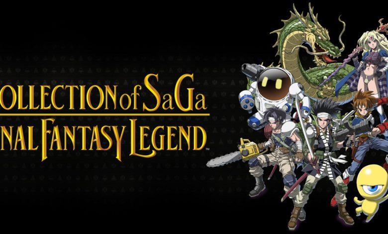 Collection of SaGa Final Fantasy Legend ya tiene fecha de salida