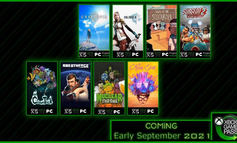 Nuevos y próximos juegos para Xbox Game Pass: Final Fantasy XIII y más