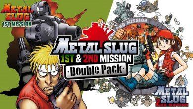 Photo of METAL SLUG 1st & 2nd MISSION Double Pack Ya Está Disponible en Nintendo Switch