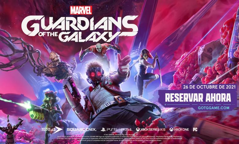 Reúnete con Star-Lord y su banda en Marvel's Guardians Of The Galaxy