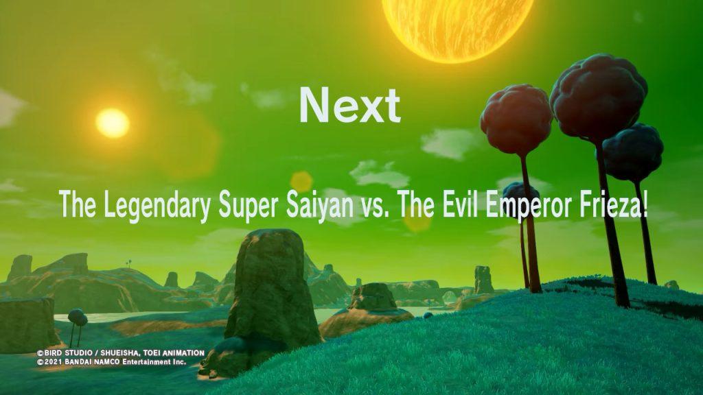 El Legendario Super Saiyajin contra el Emperador Freezer