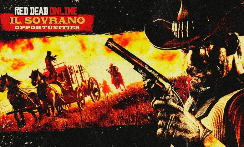 Red Dead Online - Consigue doble Rdo$ y XP por robar IL SOVRANO